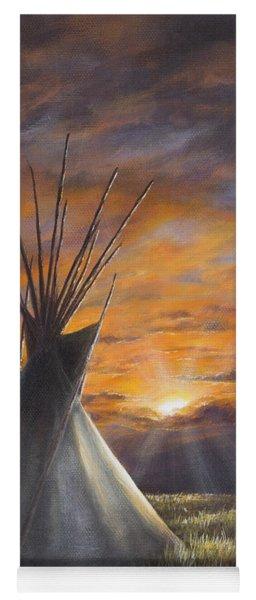 Prairie Sunset Yoga Mat