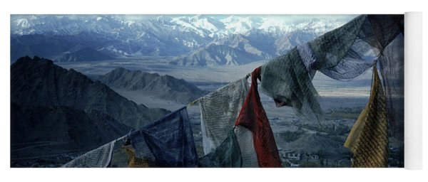 Prayer Flags Leh Ladakh Yoga Mat