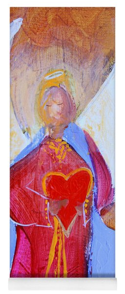 Precious Heart Angel Yoga Mat