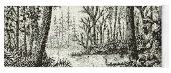 Prehistoric Flora, Carboniferous Yoga Mat