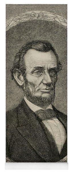 President Abraham Lincoln Yoga Mat