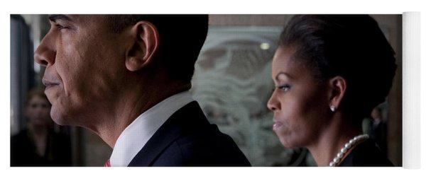 President And Mrs Obama Yoga Mat