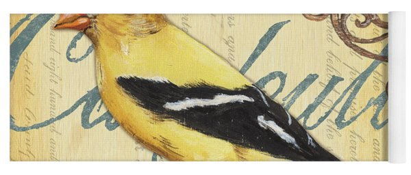 Pretty Bird 3 Yoga Mat