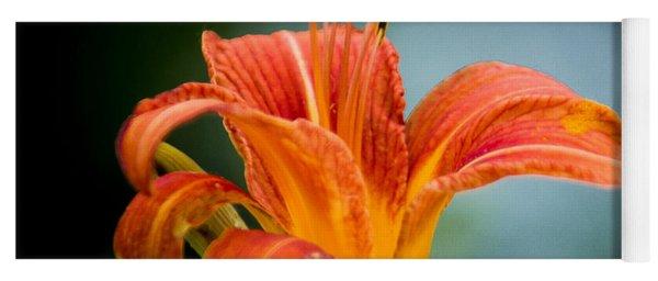 Pretty Flower Yoga Mat