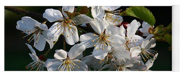 Pretty Flowers Yoga Mat
