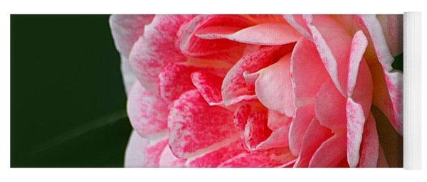Pretty Pink Rose Yoga Mat