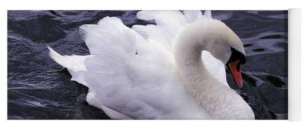 Pretty Swan Yoga Mat