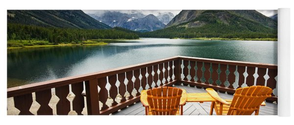 Priceless Glacier View Yoga Mat