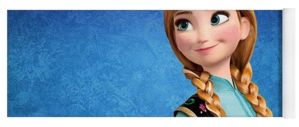 Princess Anna Frozen Yoga Mat