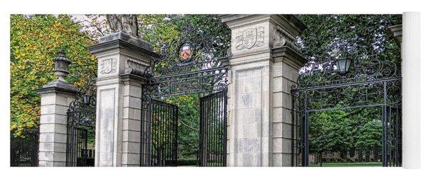 Princeton University Main Gate Yoga Mat