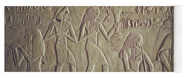 Private Tomb Of Kheruef Kheruf Cheriuf Tt 192 Asasif-stock Image-fine Art Print-valley Of The Kings Yoga Mat
