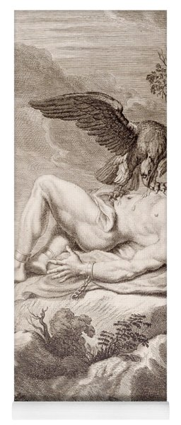 Prometheus Tortured By A Vulture Yoga Mat