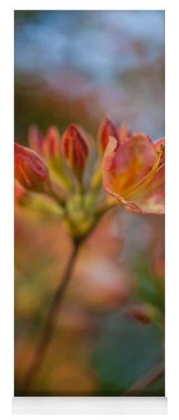 Proud Orange Blossoms Yoga Mat
