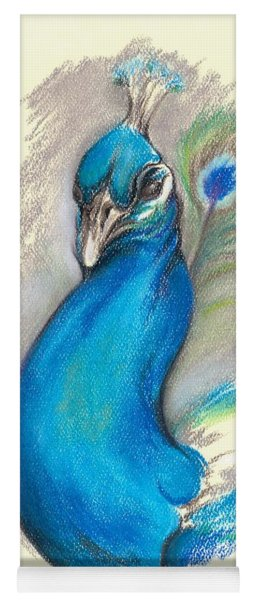 Proud Peacock Yoga Mat