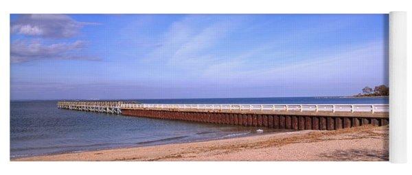 Prybil Beach Pier Yoga Mat