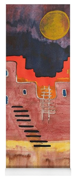 Pueblito Original Painting Yoga Mat