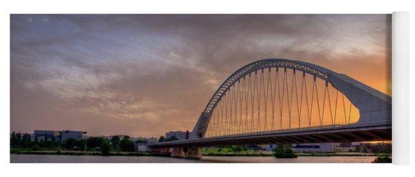Puente De Lusitania II Yoga Mat