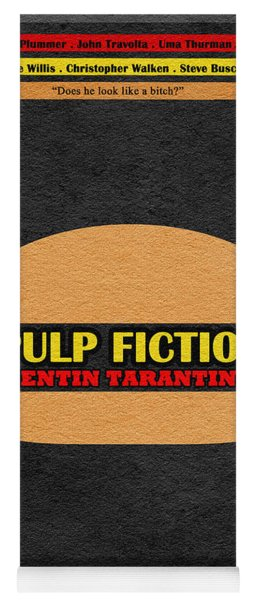 Pulp Fiction Yoga Mat