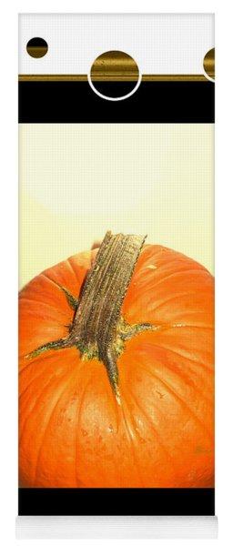 Pumpkin Card Yoga Mat