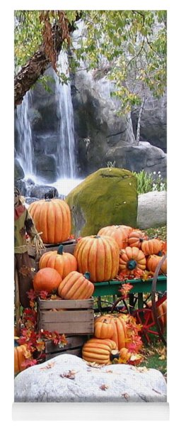 Pumpkin Waterfall Yoga Mat