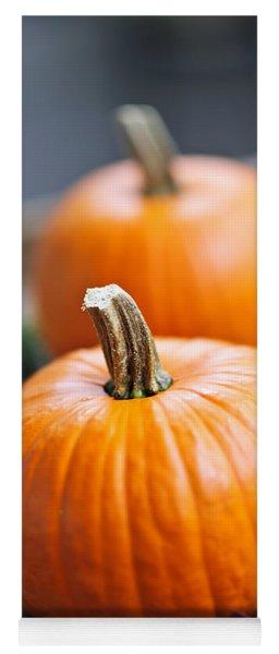 Pumpkins Yoga Mat
