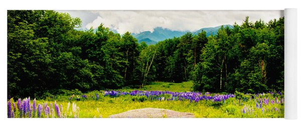 Purple And Mountains And Majesty Yoga Mat