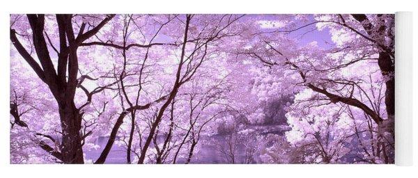 Purple Forest Yoga Mat