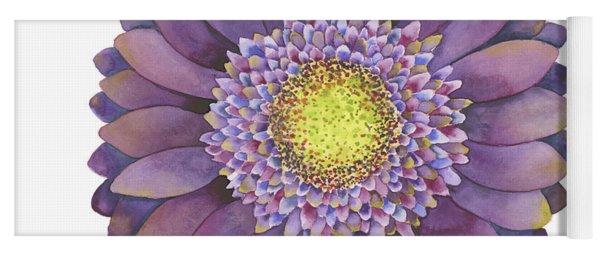 Purple Gerbera Daisy Yoga Mat