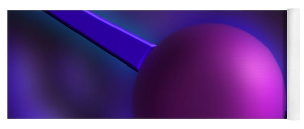 Purple Orb Yoga Mat