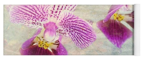 Purple Orchid 2 Yoga Mat