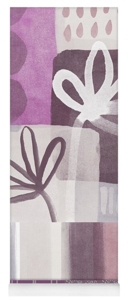 Purple Patchwork- Contemporary Art Yoga Mat