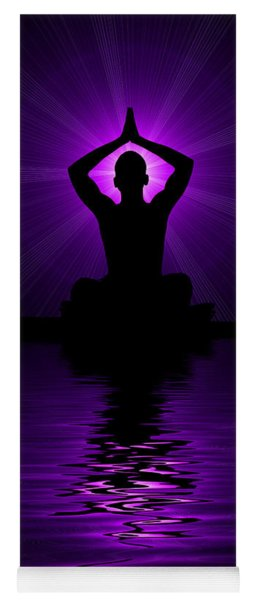 Purple Prayer Yoga Mat