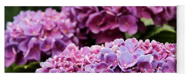 Purple Symphony By Julia Fine Art Yoga Mat