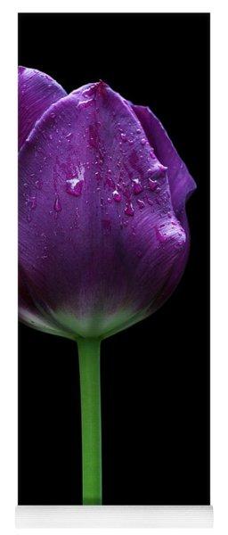 Purple Tulip Yoga Mat