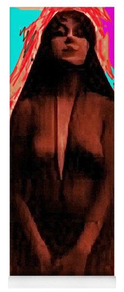Purported Photo Of Josephine Earp Wyatt Earp's Widow C.1881-2009 Yoga Mat