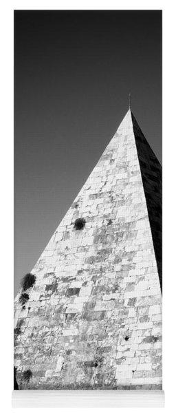Pyramid Of Cestius Yoga Mat