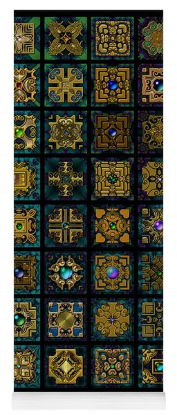 Quadtiles One Dingbat Quilt Yoga Mat