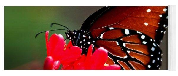 Queen Butterfly II Yoga Mat