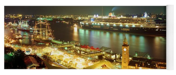 Queen Mary 2 Stands By For Dry-docking Yoga Mat
