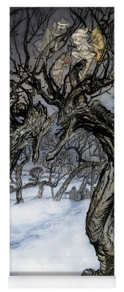 Rackham: Whisper Trees Yoga Mat