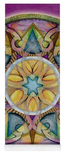 Radiant Health Mandala Yoga Mat