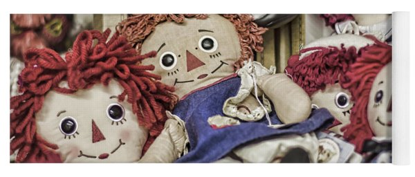Raggedy Ann And Andy Yoga Mat