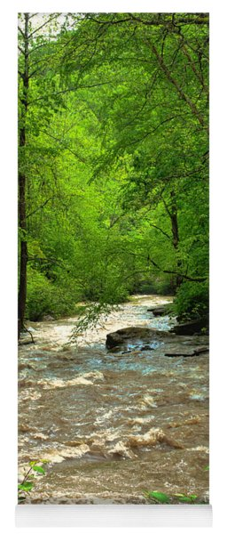 Raging Waters - West Virginia Backroad Yoga Mat