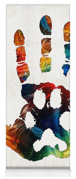 Rainbow Bridge Art - Never Forgotten - By Sharon Cummings Yoga Mat