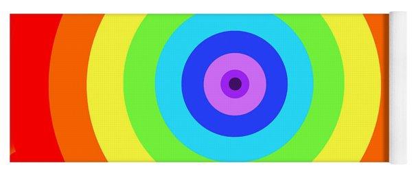 Rainbow Reality Yoga Mat