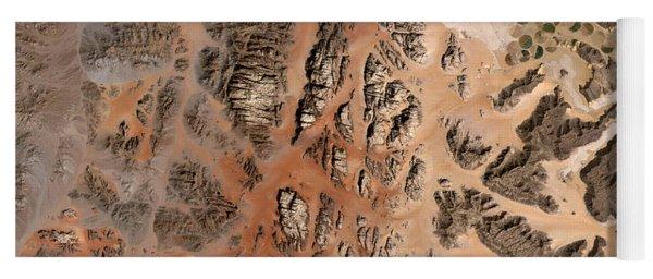 Ram Desert Transjordanian Plateau Jordan Yoga Mat