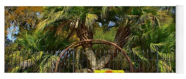 Rare Palm Tree Yoga Mat