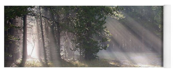 Rays Of Light Yoga Mat