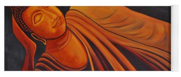 Reclining Buddha Yoga Mat
