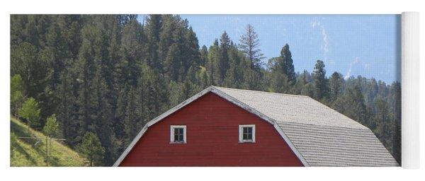 Barn - Pikes Peak Burgess Res Divide Co Yoga Mat